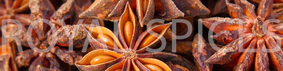 specifications of star anise without stem